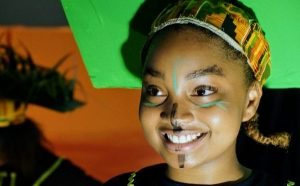 Actress in the Lion King at KIPP Bloom College Prep